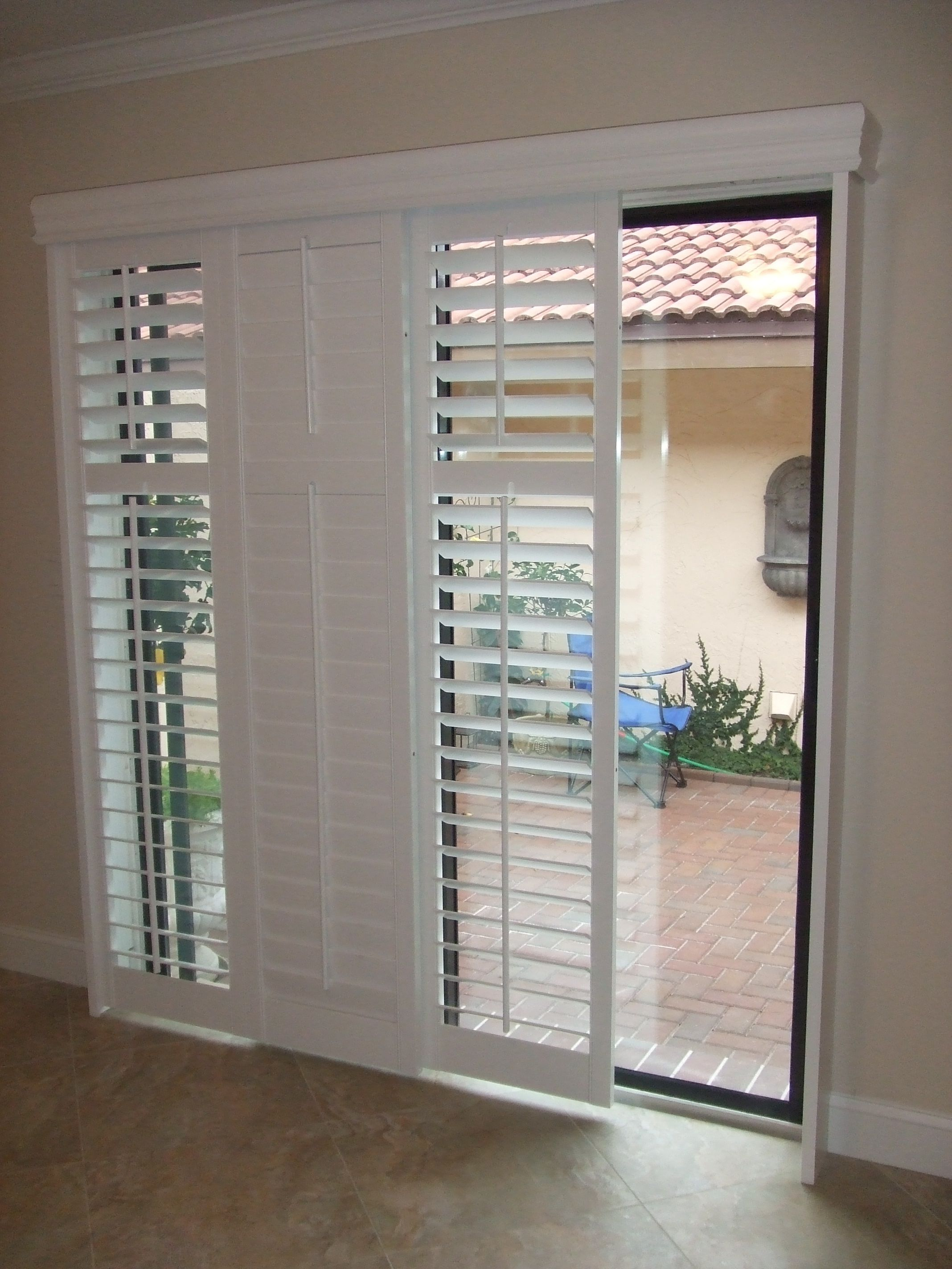 Patio door blinds  82