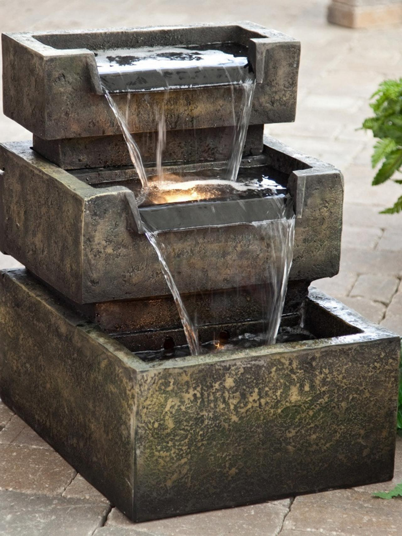 Patio fountains  19