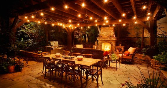Patio Lighting Ideas  10