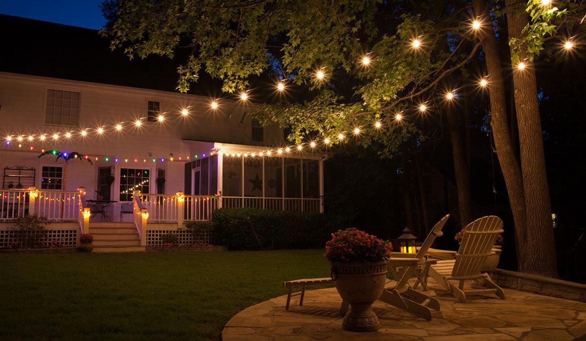 Incorporate Stunning Patio Lighting Ideas - CareHomeDecor on Patio Lights Decorating Ideas id=36124
