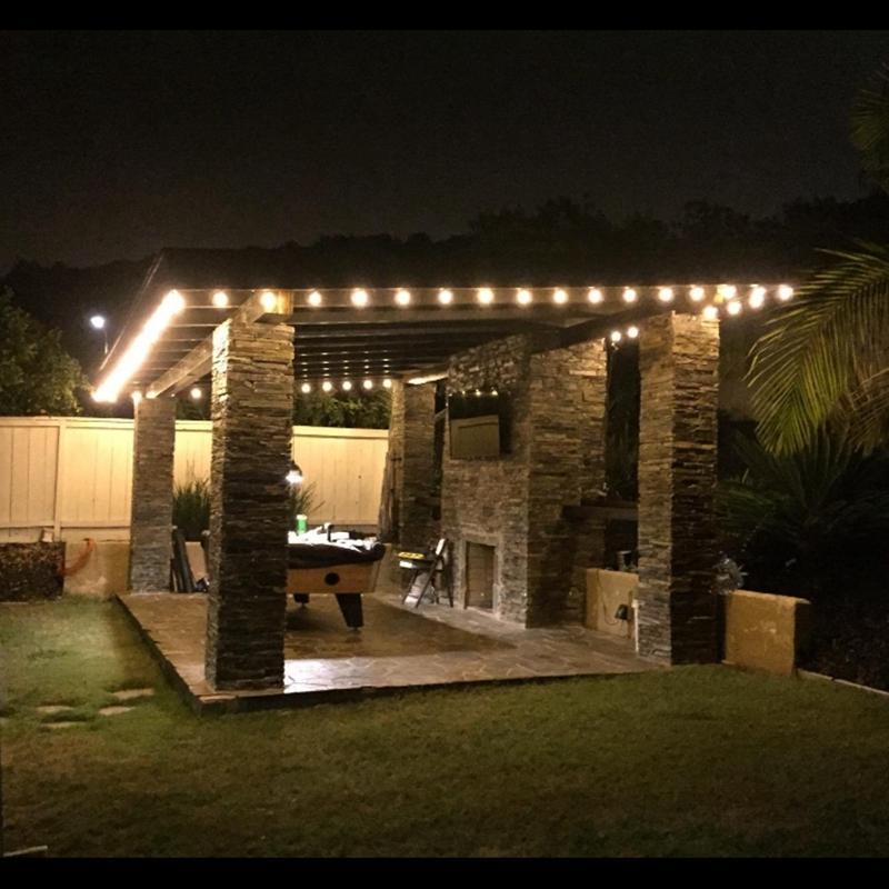 Patio lights 13