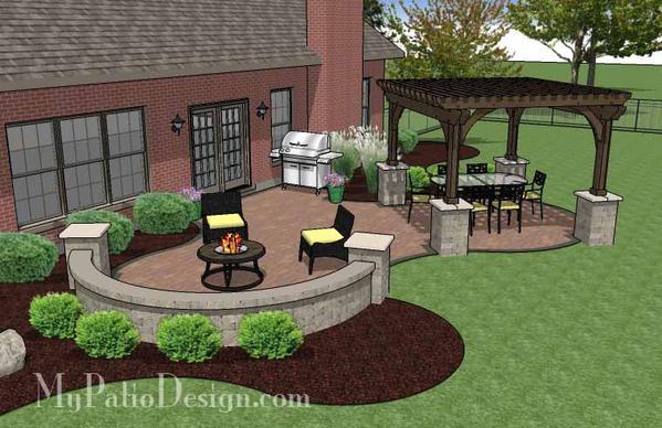 Paver patio designs  37