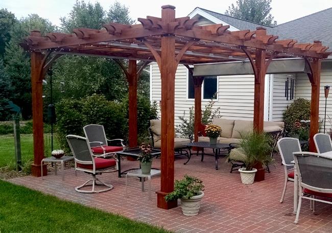 pergola with canopy  20