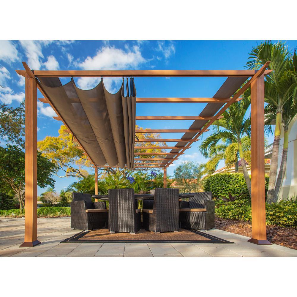 pergola with canopy 35