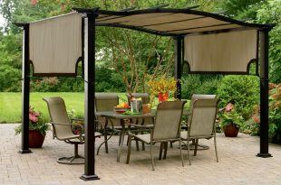 pergola with canopy  82