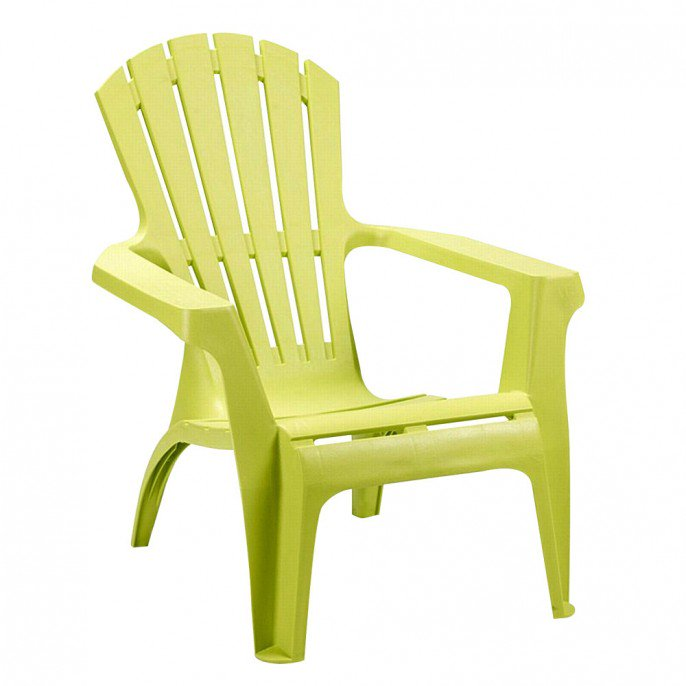 Stylish and luxurious plastic garden chairs