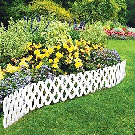Plastic garden edging  25