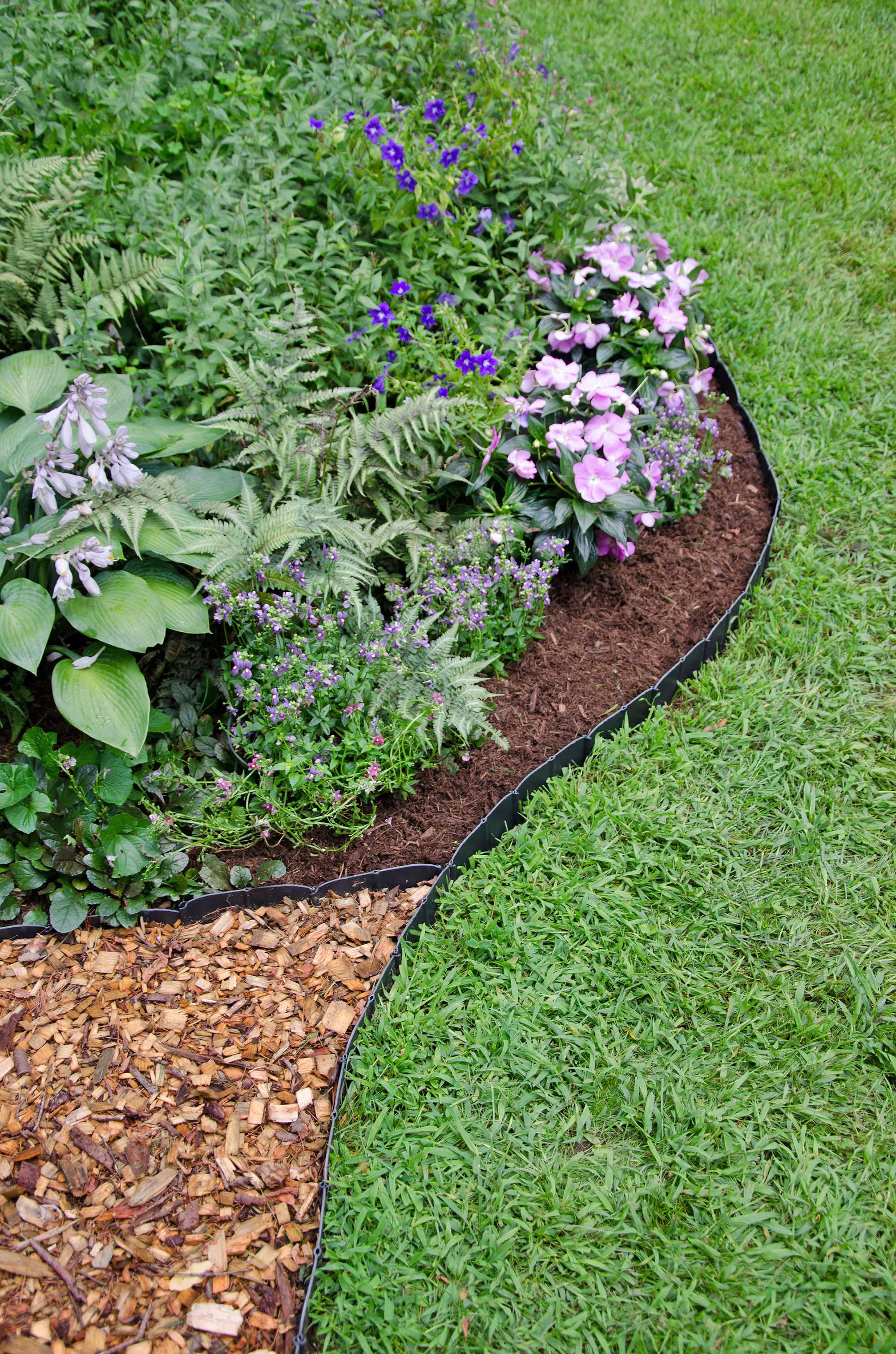 Plastic garden edging  59