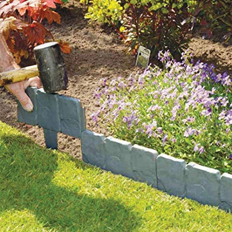 Plastic garden edging  60