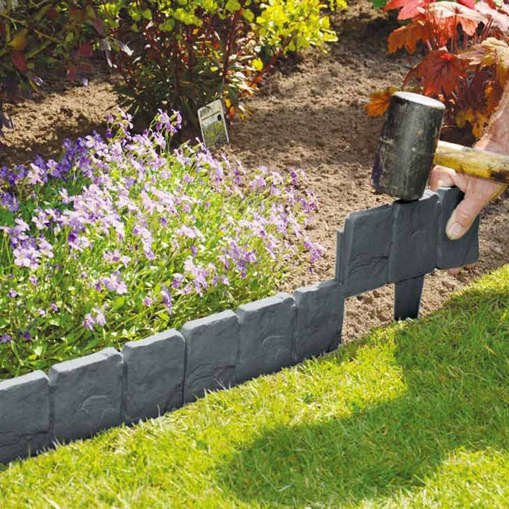 Plastic garden edging  73