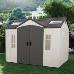 plastic storage shed 16
