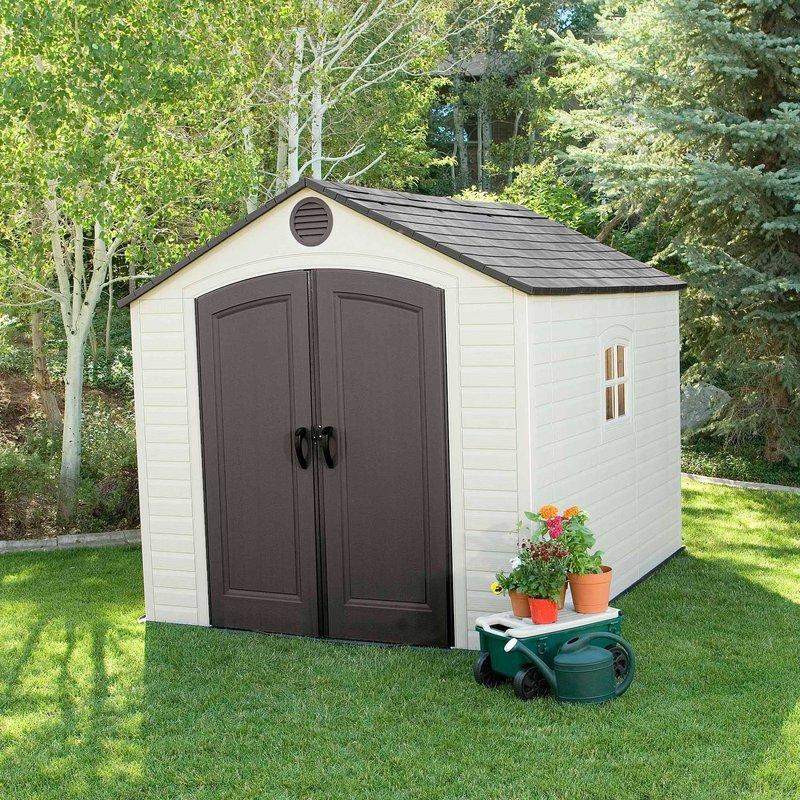 plastic storage shed  25