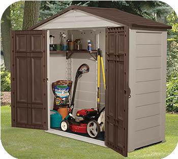 plastic storage sheds  10