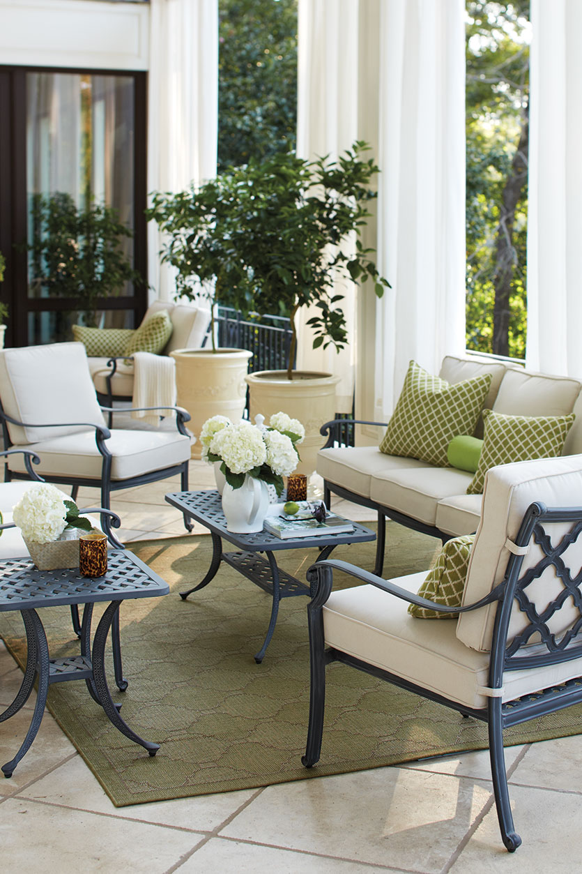 Add luxury appearance to your home by getting porch furniture