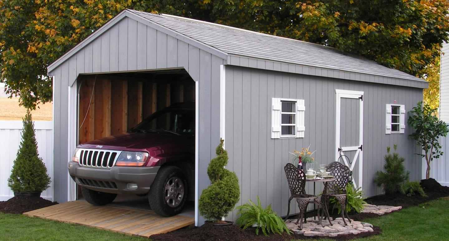 Design attractive and portable garage for your vehicles