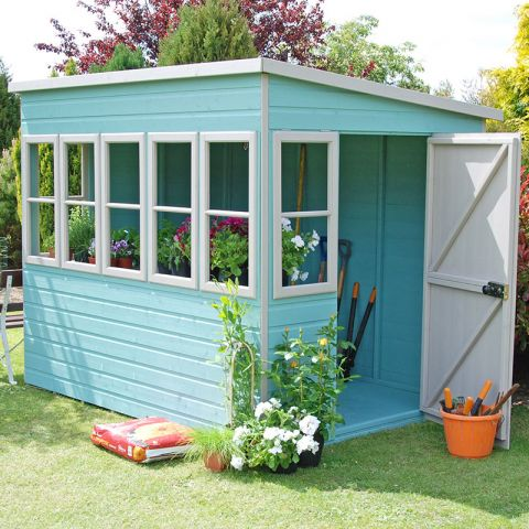 Choose perfect design of potting shed for your garden