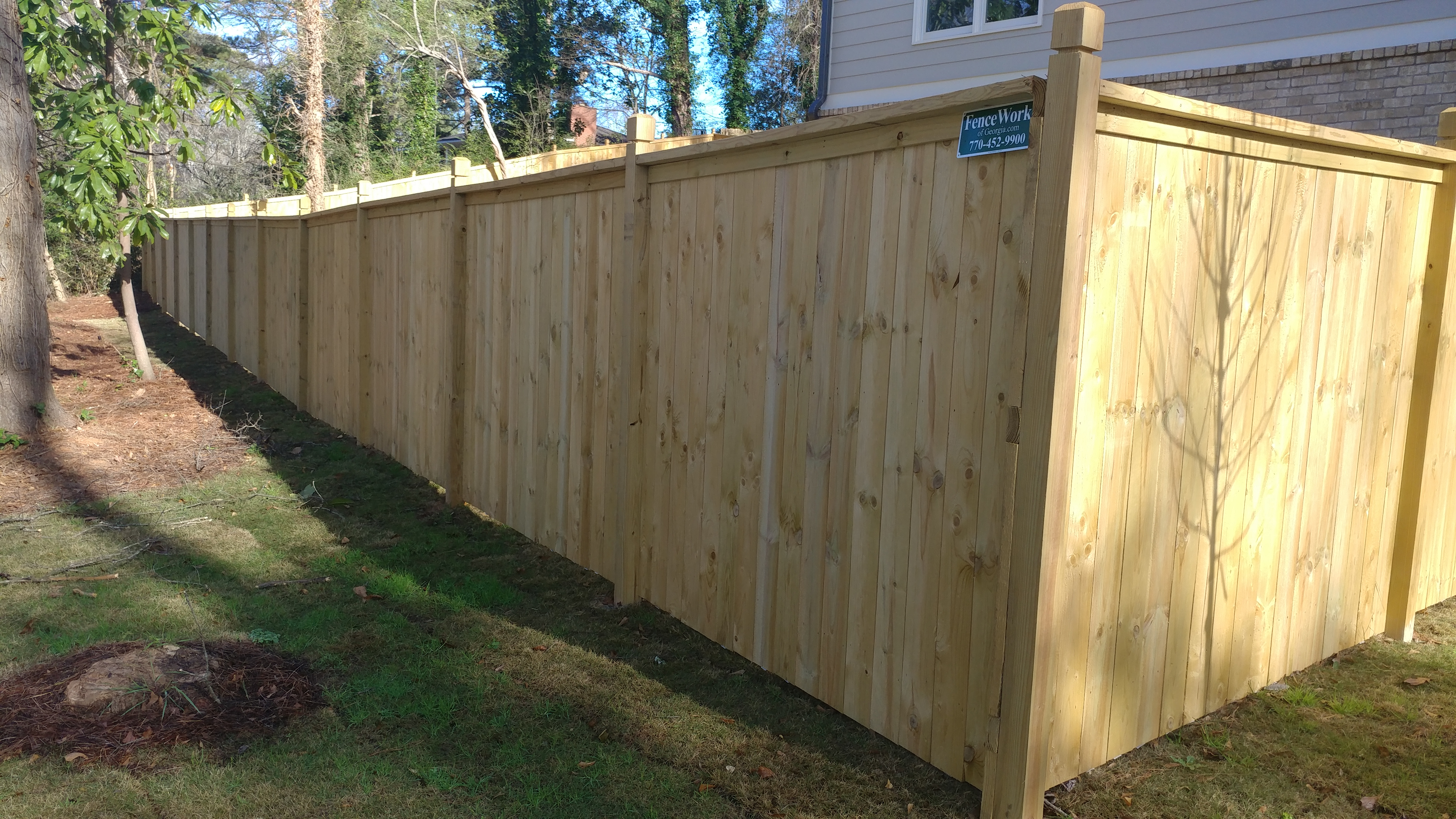 Privacy fence  95