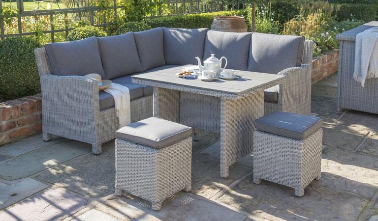 Rattan garden sofa sets 11