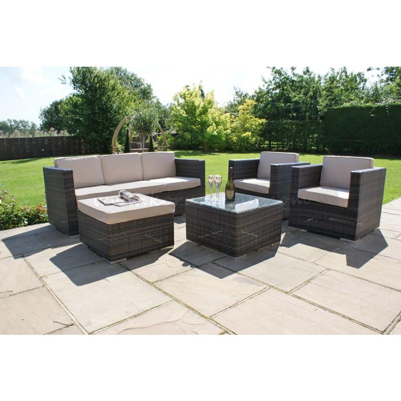 Rattan garden sofa sets  42