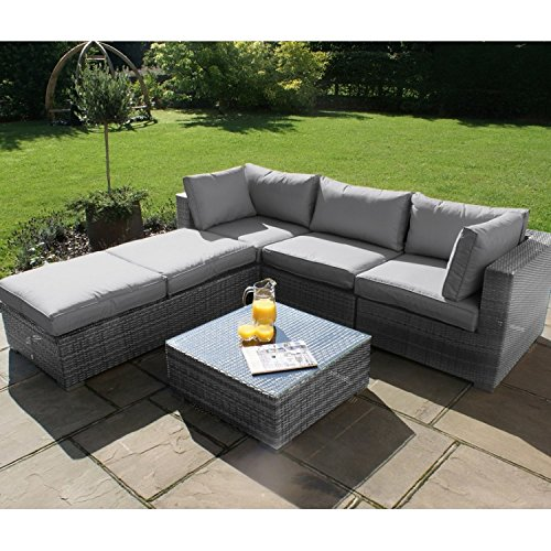 Rattan garden sofa sets 54