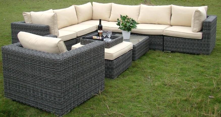 Rattan garden sofa sets  94