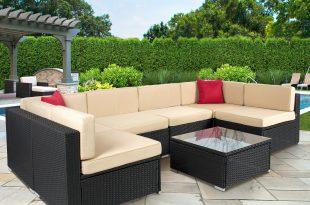 Rattan garden sofa sets  96
