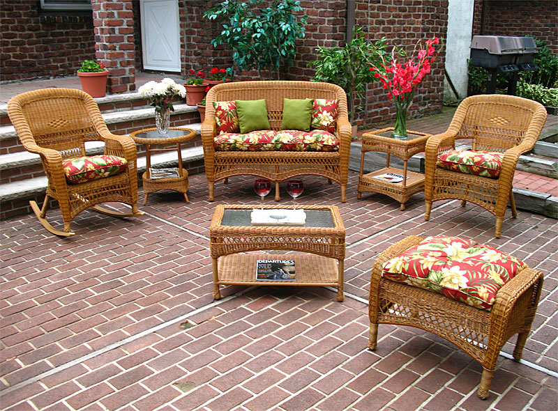 Choose perfect designs of resin wicker patio furniture for ...