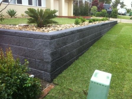 Retaining wall ideas towards increasing grandeur