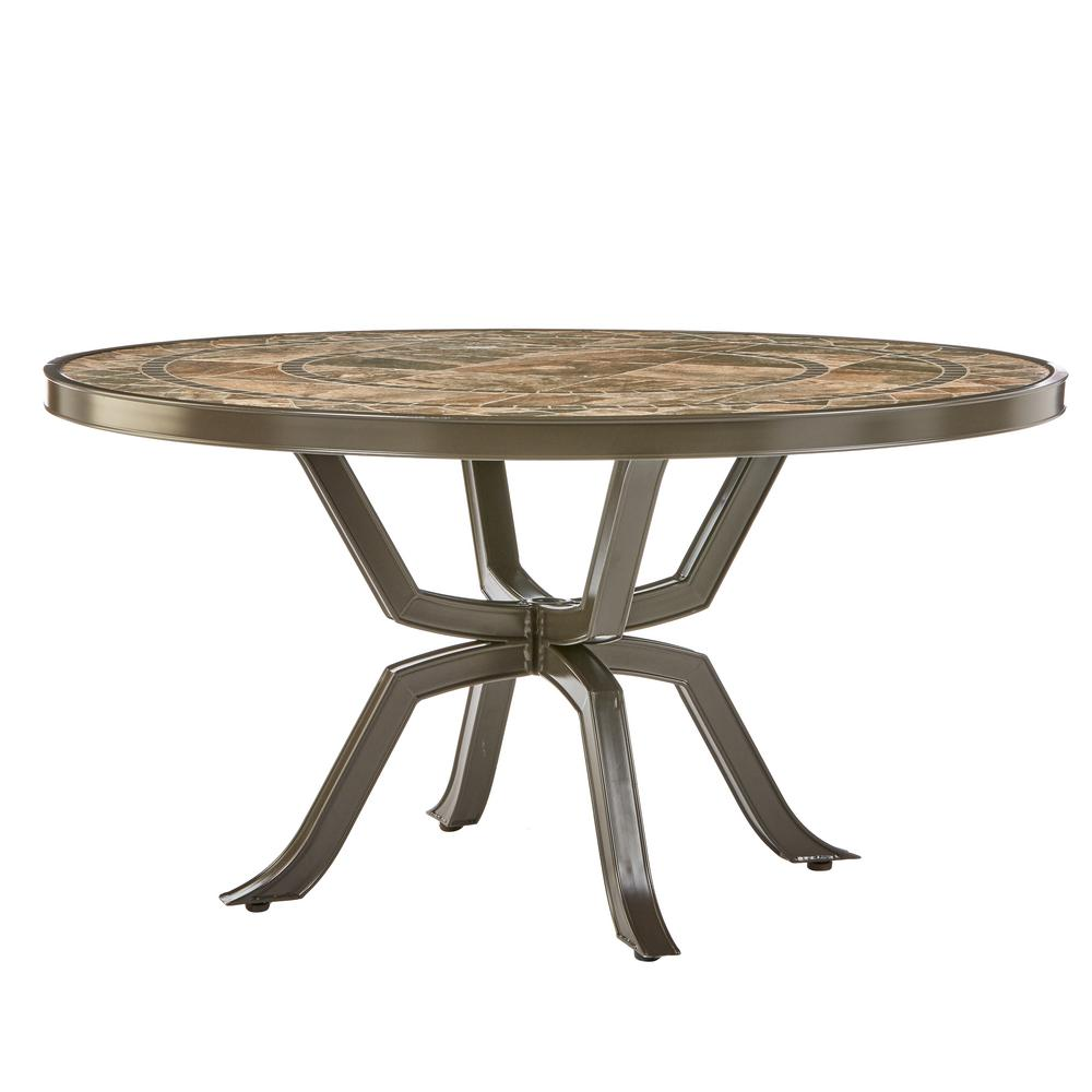 Round Patio Table  14