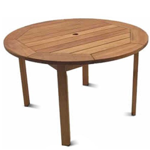 Round Patio Table for Better Family Bonding