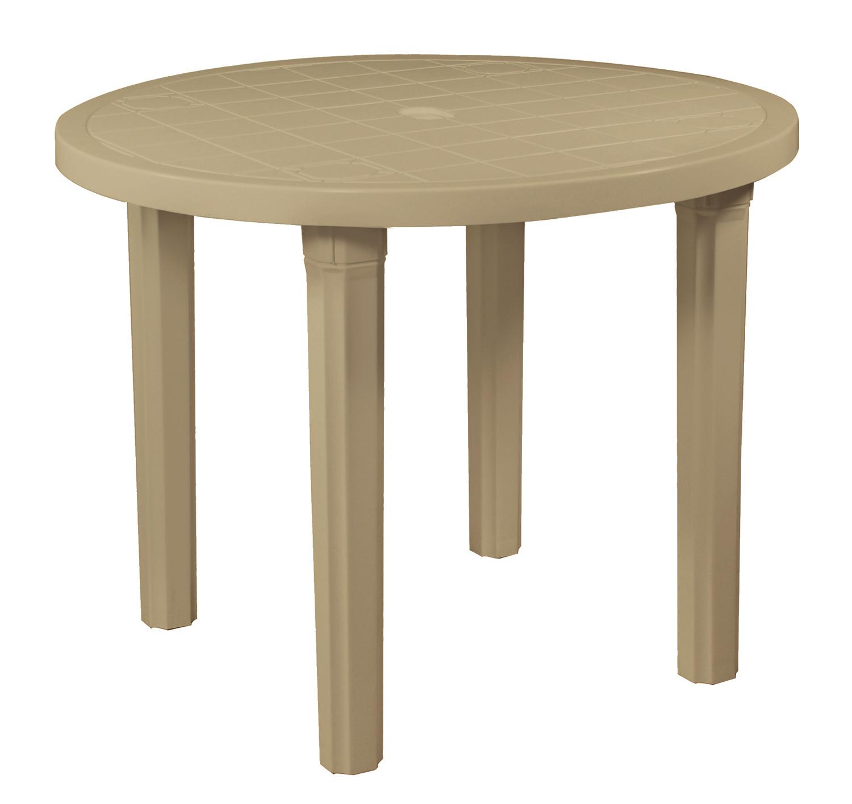 Round Patio Table  87