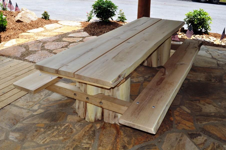 Rustic garden furniture  10
