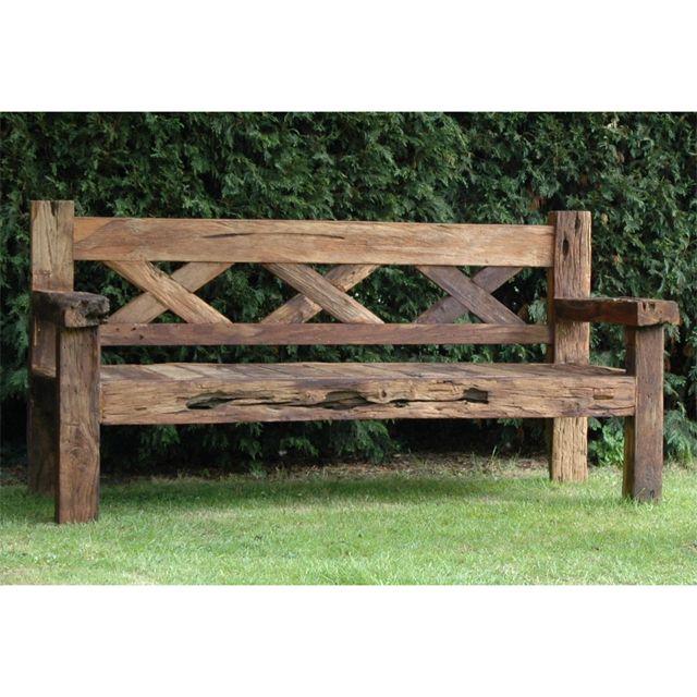 Rustic garden furniture  21