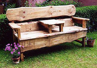 Rustic garden furniture  64
