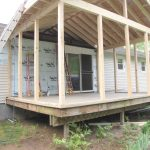 Screened in Deck Makes House Spacious & Safer