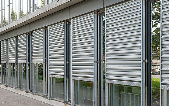 Security Shutters as the perfect solution for safety