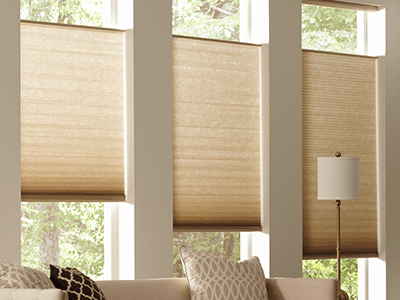 Add luxurious look to your place with trendy shades blinds design
