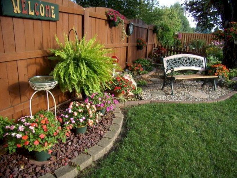 Simple Backyard Ideas  51