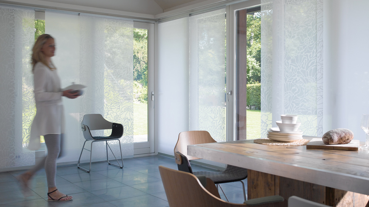 Sliding panel blinds are the best solution for all kinds of rooms