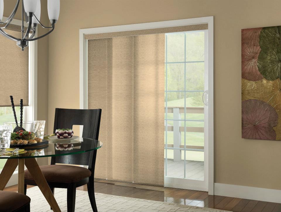 Sliding panel blinds  56