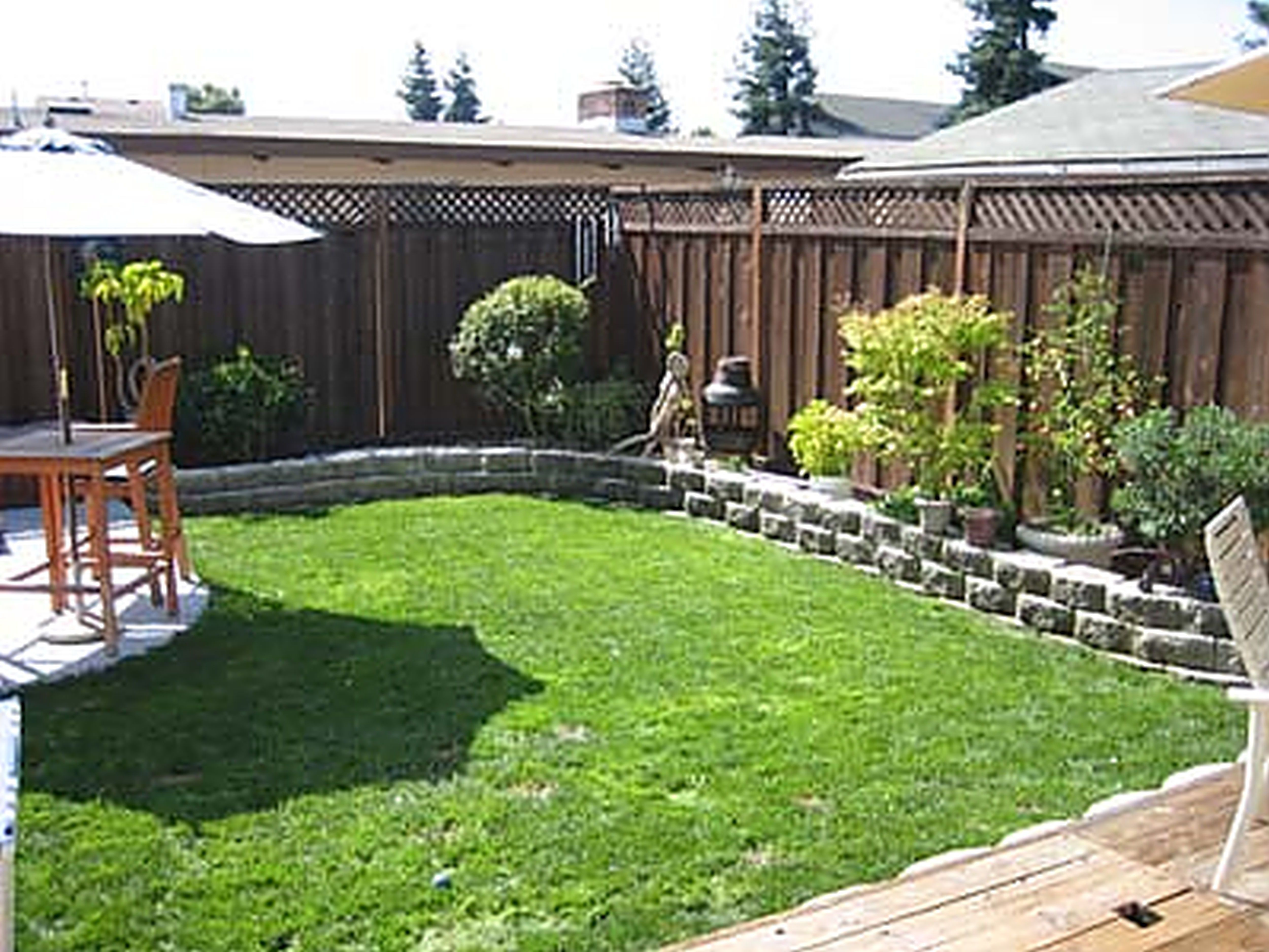 Small backyard landscaping ideas  91