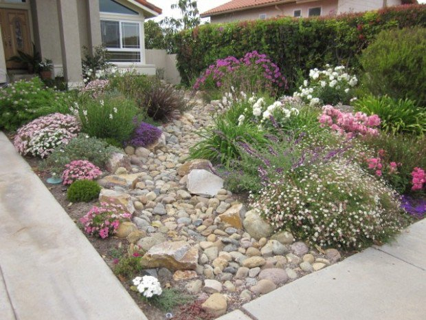 Small front garden  25