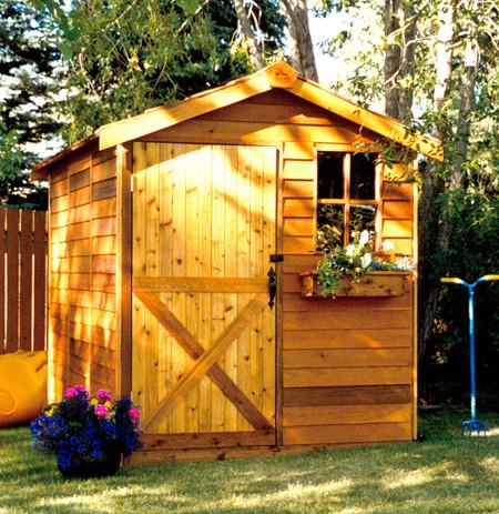 Small garden sheds  68