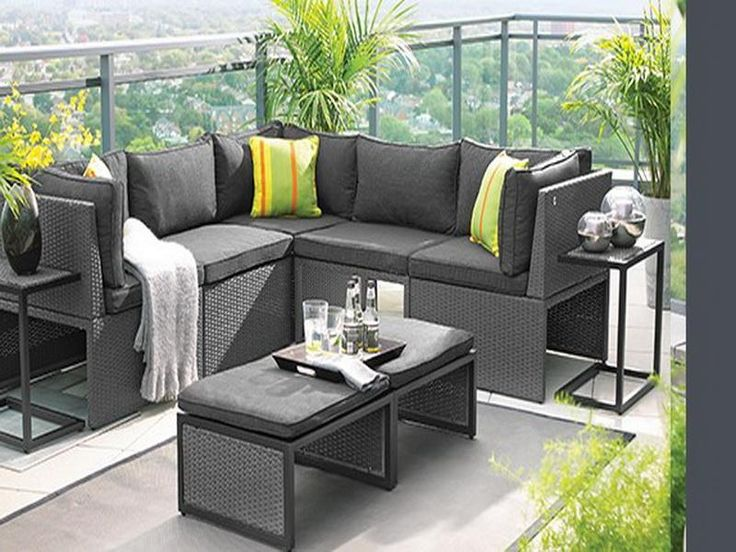 Adore trendiest small patio furniture