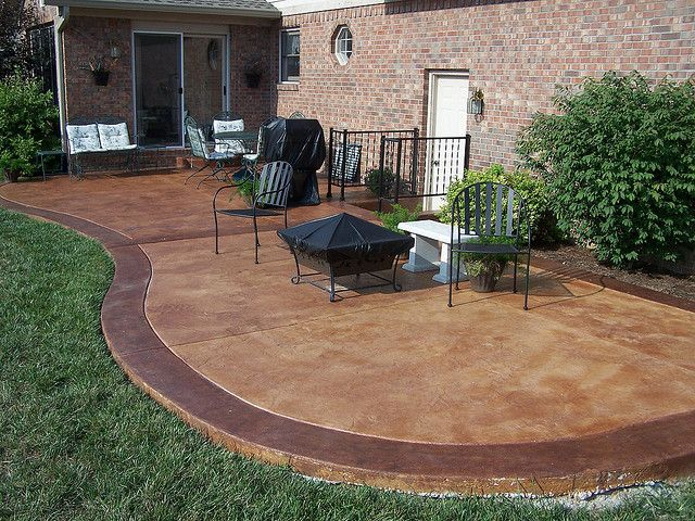 stained concrete patio  33