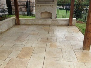 stained concrete patio  43