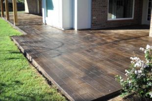 stained concrete patio  50
