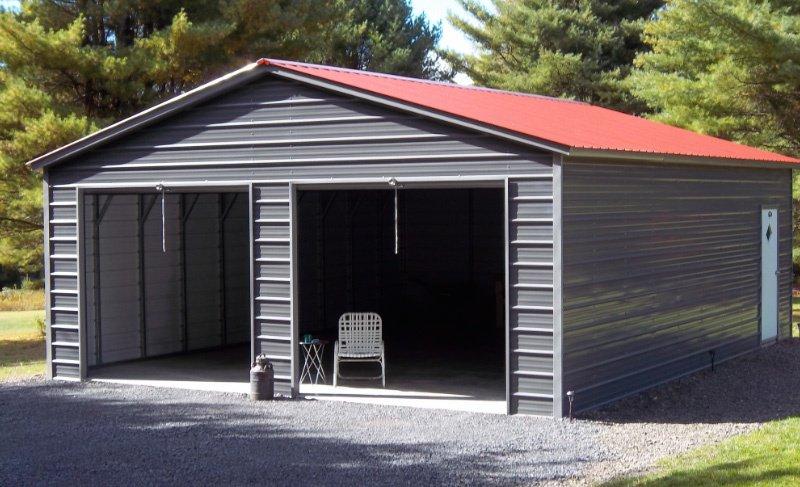 Steel garage  19