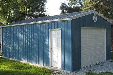 Steel garage  35