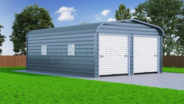 Steel garage  42